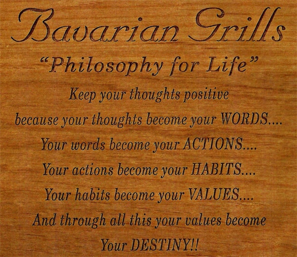 Philosophy For Life Bavarian Grill Delectable Philosophy Words About Life