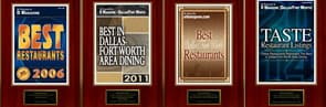 Best Plano Restaurant by D Magazine